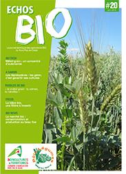 Bulletin echos bio n 20 chambre d 39 agriculture du nord - Chambre d agriculture pas de calais ...