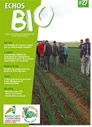 Bulletin echos bio n 27 chambre d 39 agriculture du nord - Chambre d agriculture du pas de calais ...