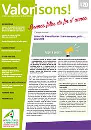 Bulletin valorisons n 20 chambre d 39 agriculture du nord for Chambre agriculture nord